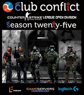 Club Conflict CS:GO League Season 25 Open Division